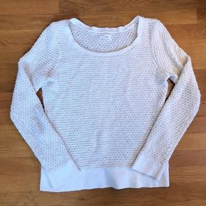 Lou & Grey Knit Cream Sweater